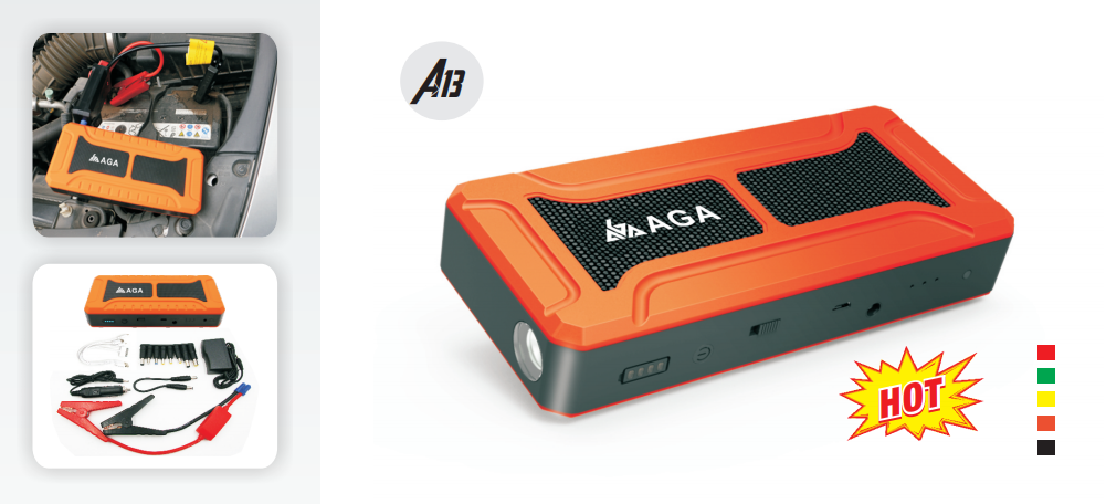 Boost Start Your Car with a Car Jump Starter-AGA CO ,LTD